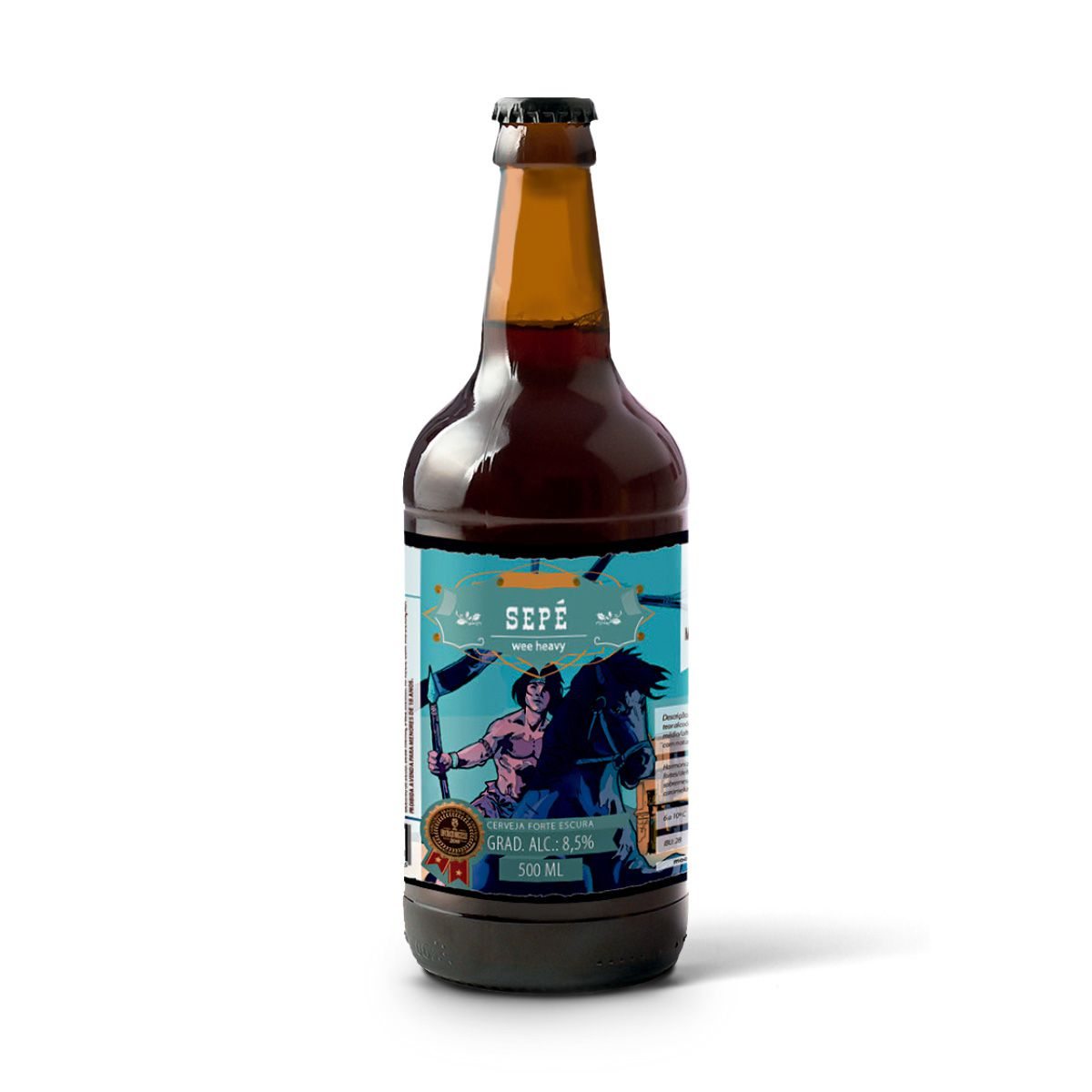 Moocabier Strong Scotch Ale Sepé 500ml