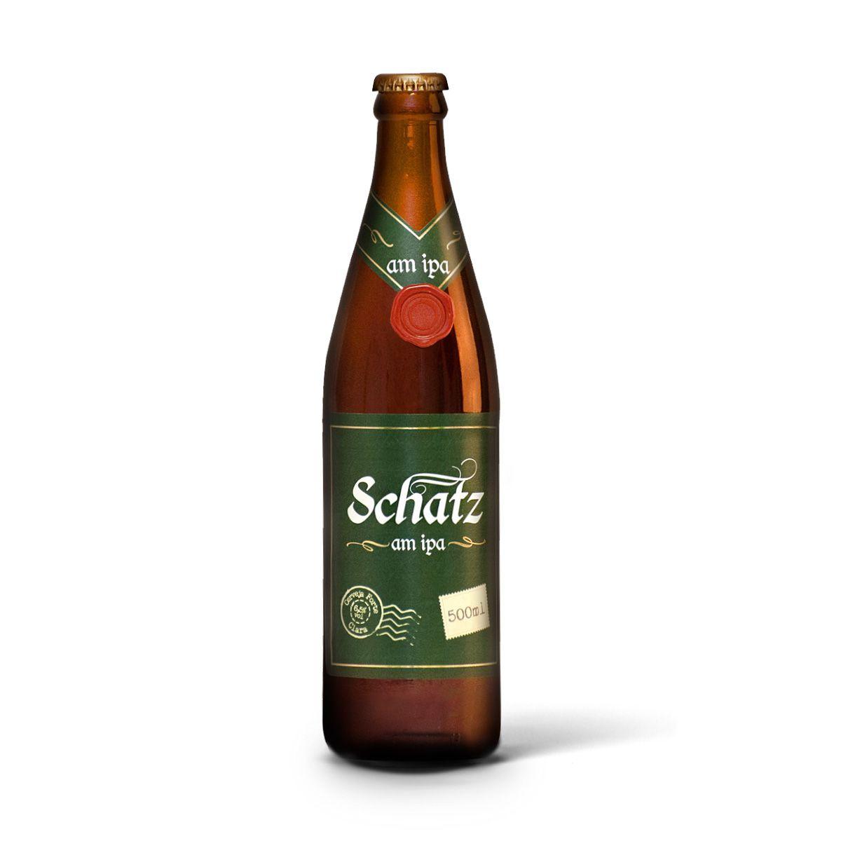 Schatz India Pale Ale IPA AlquimIPA 500ml