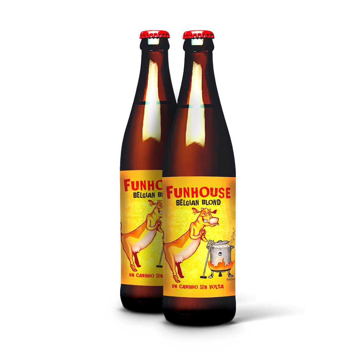 Seasons Blond Ale Funhouse 500ml Viva 2 un.