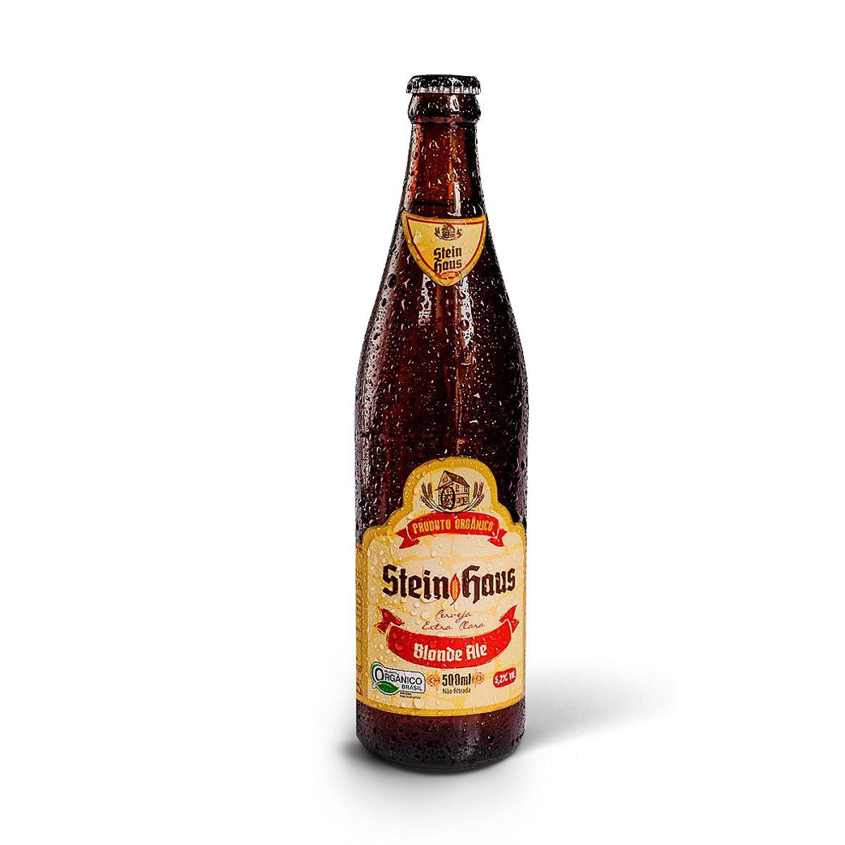 SteinHaus Orgânica Blond Ale 500ml