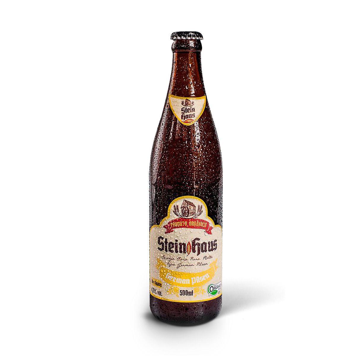 SteinHaus Orgânica German Pilsen 500ml