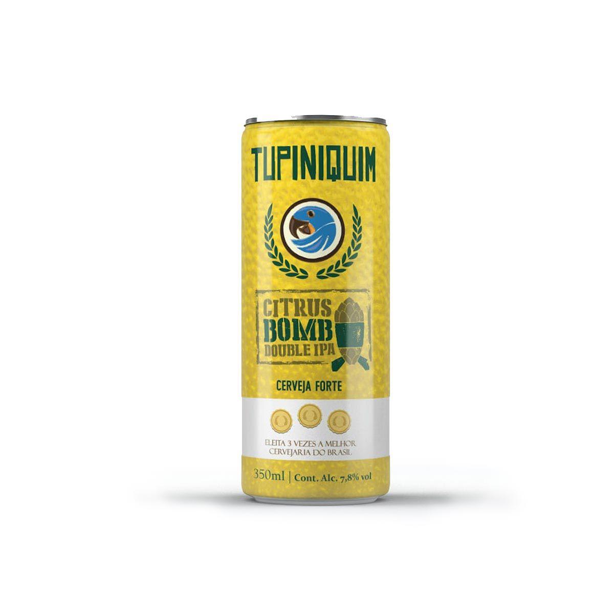 Tupiniquim Citrus Bomb Double IPA 350ml