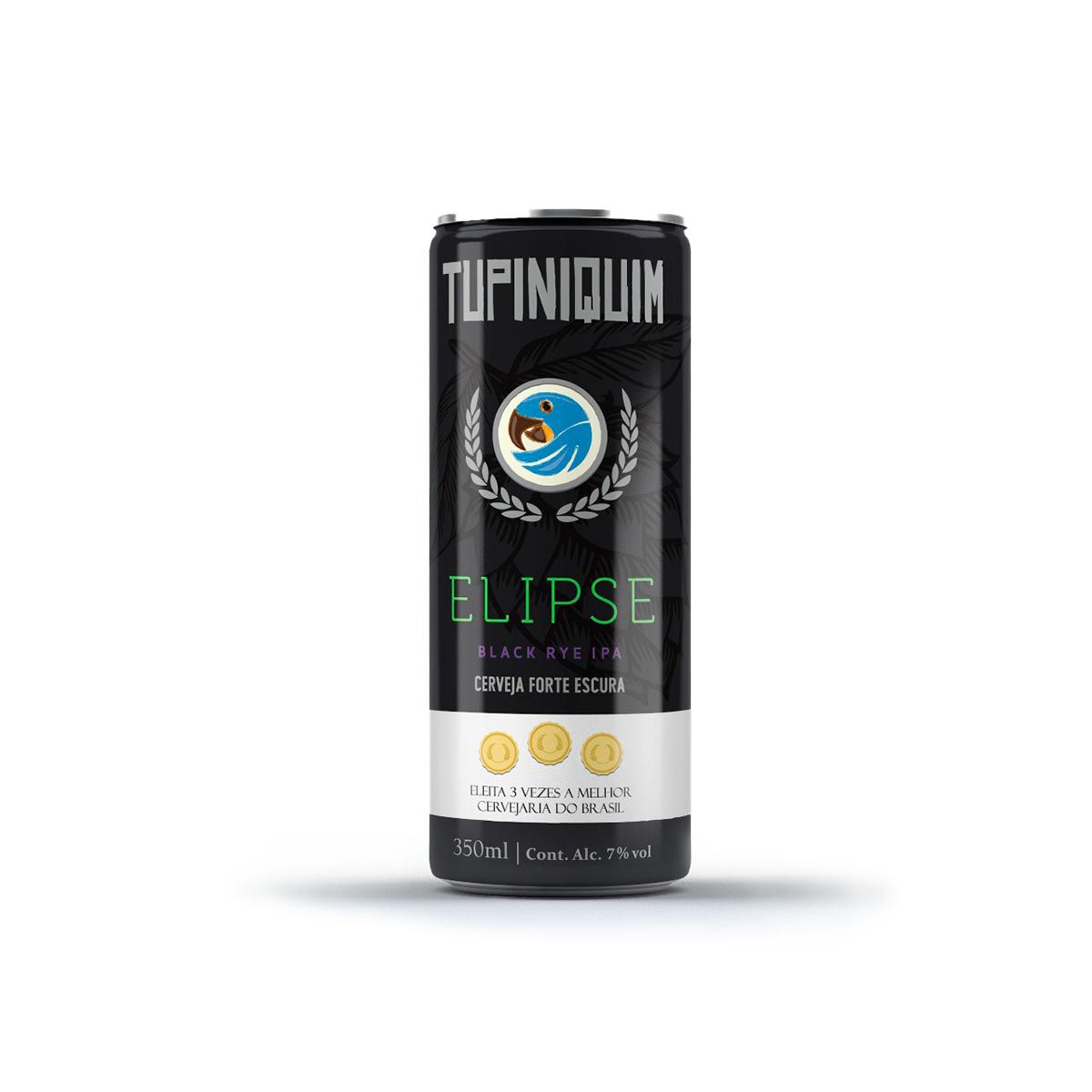 Tupiniquim Elipse Black IPA 350ml