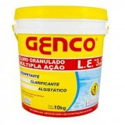 BALDE DE CLORO 10KG 3 EM 1 GENCO