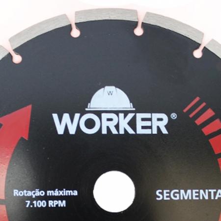 """DISCO DIAMANTADO SEGMENTADO 9"""" WORKER"""