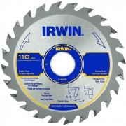 DISCO PARA SERRA CIRCULAR 4.3/8 24 DENTES IRWIN