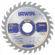 DISCO PARA SERRA CIRCULAR 4.3/8 30 DENTES IRWIN