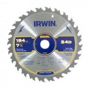 DISCO PARA SERRA CIRCULAR 7.1/4 24 DENTES IRWIN