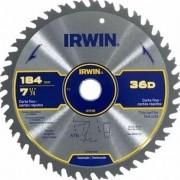 DISCO PARA SERRA CIRCULAR 7.1/4 36 DENTES IRWIN