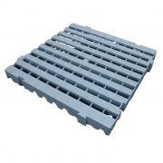 Estrado Pallet de Plástico Modular 50x50 CINZA