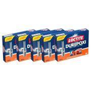 Kit 5 Durepoxi Massa Loctite 250g - Henkel Promoção