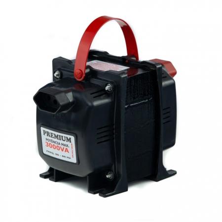 TRANSFORMADOR PREMIUM 3000VA (2100W) 127V/220V FIOLUX