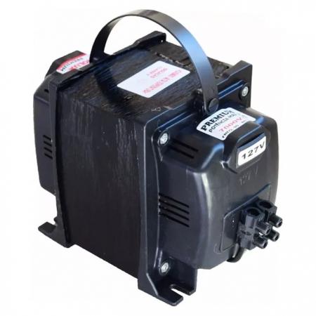 TRANSFORMADOR PREMIUM 7000VA (4900W) 127V/220V FIOLUX