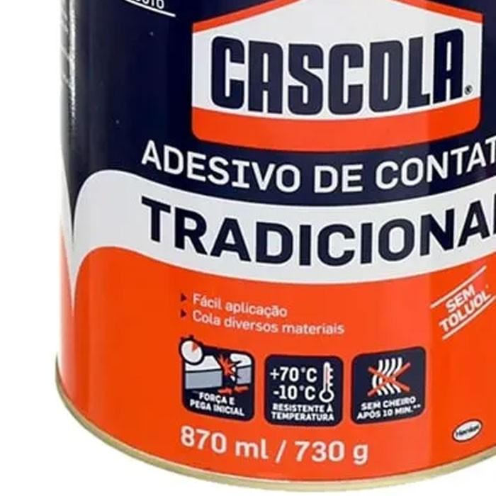 ADESIVO DE CONTATO TRADICIONAL 730G CASCOLA