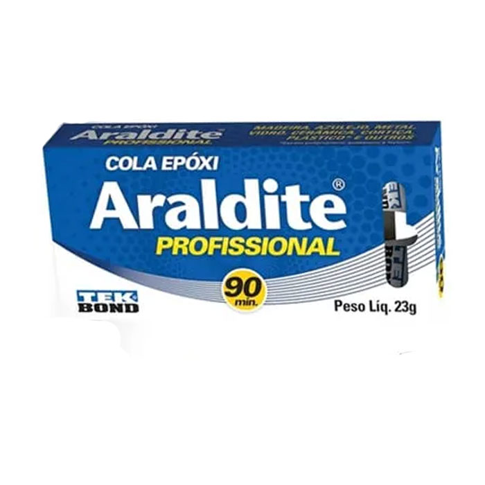 ADESIVO EPÓXI ARALDITE PROFISSIONAL 90 MIN 23G TEKBOND