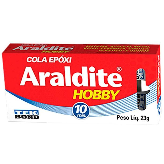 ADESIVO EPÓXI ARALDITE USO HOBBY 10 MIN 23G TEKBOND