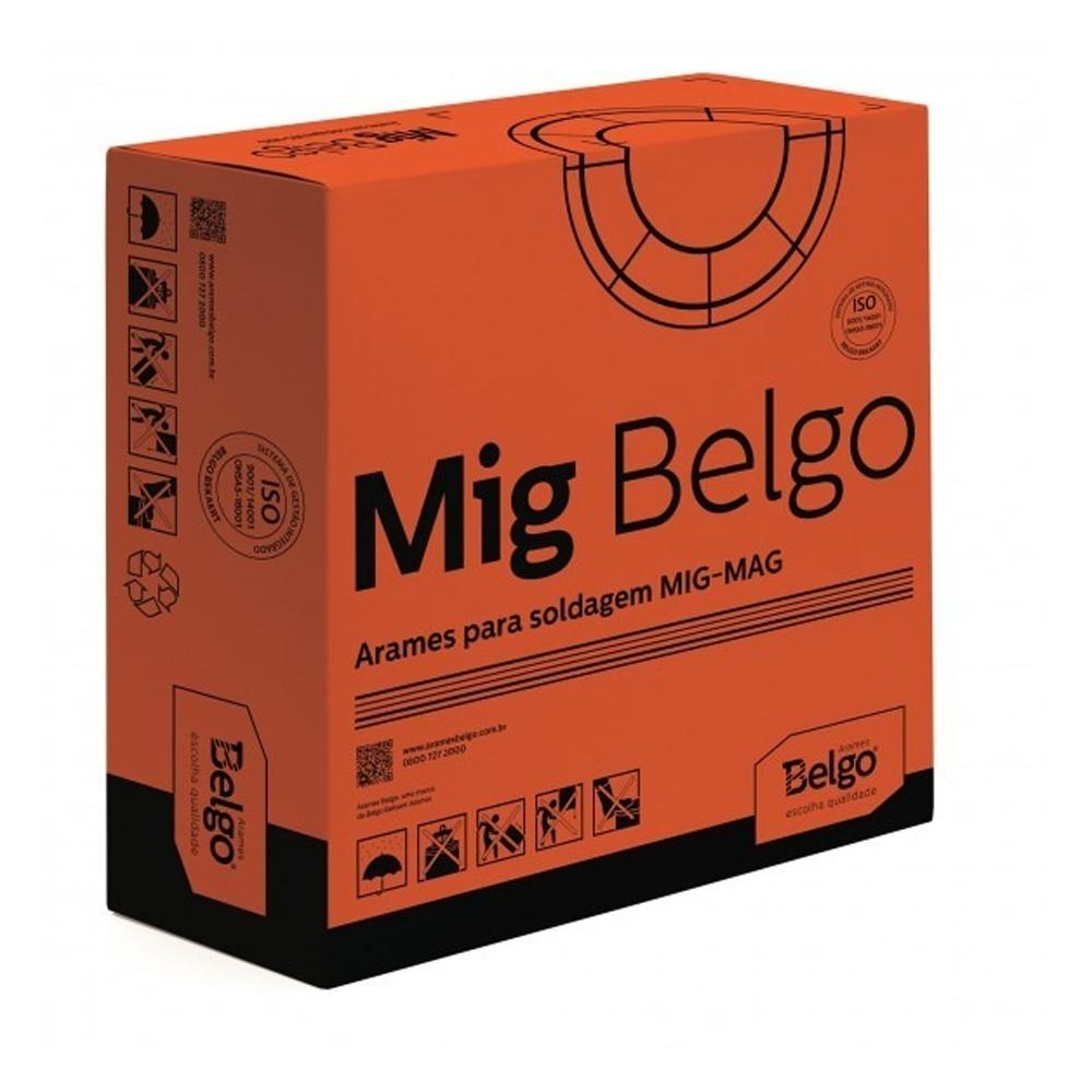 ARAME DE SOLDA MIG/MAG 0,80 BELGO