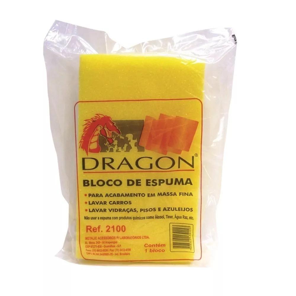 BLOCO DE ESPUMA MULTIUSO DRAGON