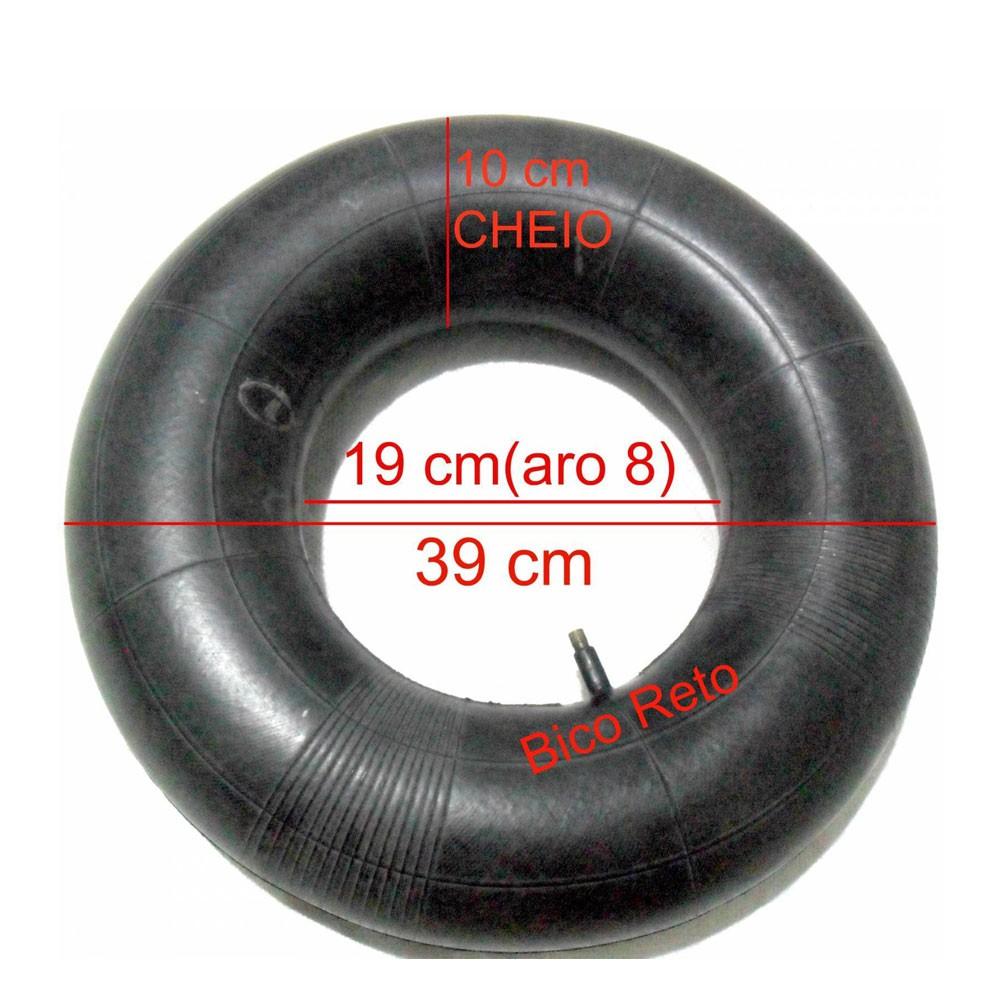 CAMARA DE AR 400X8 PARA MOTOCULTIVADOR B4T6,5 BRANCO