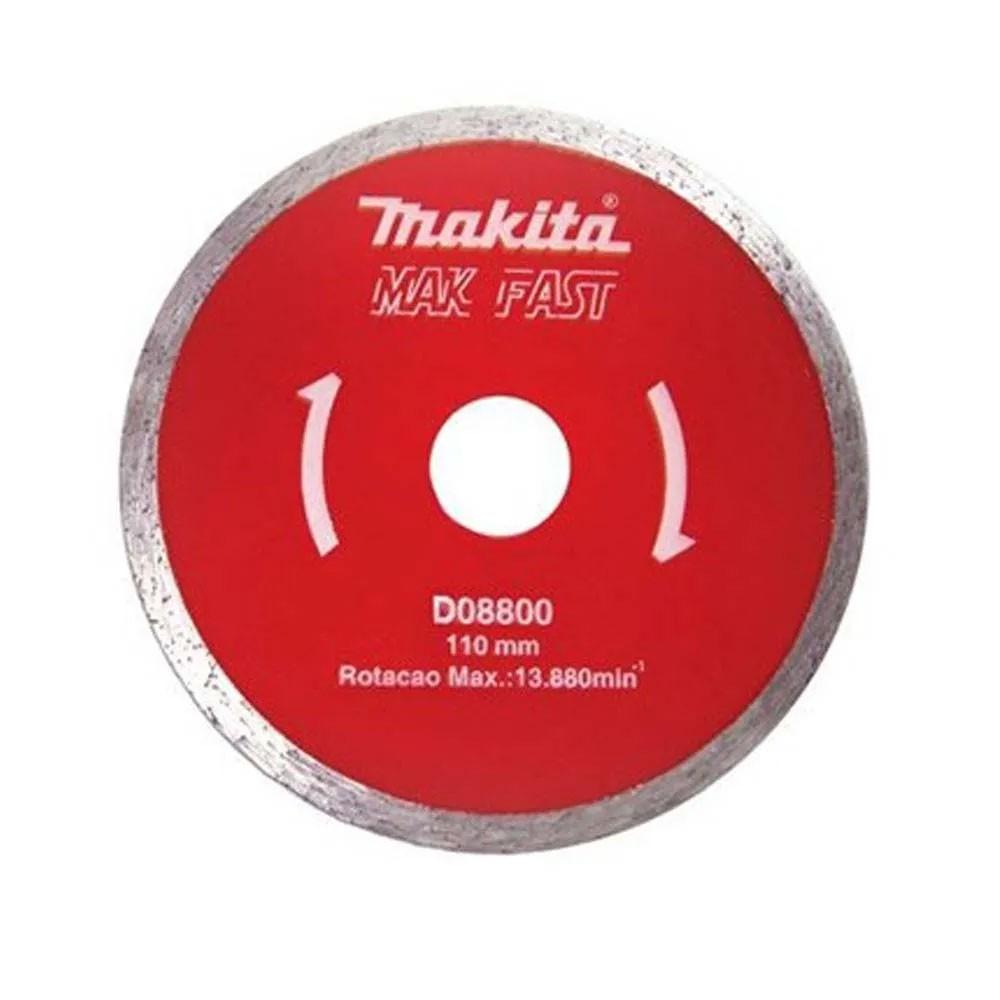 """DISCO DIAMANTADO LISO 4"""" MAKITA"""
