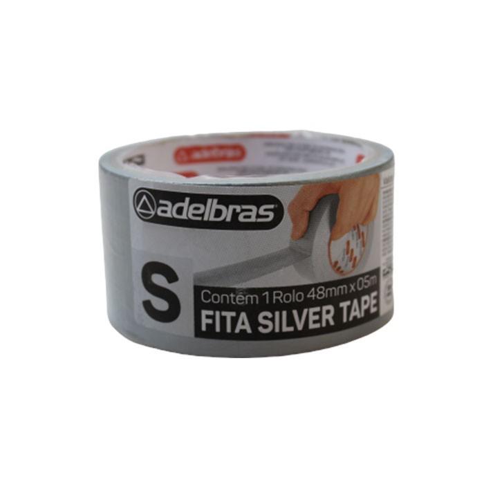 FITA SILVER TAPE COM 5 METROS ADELBRAS