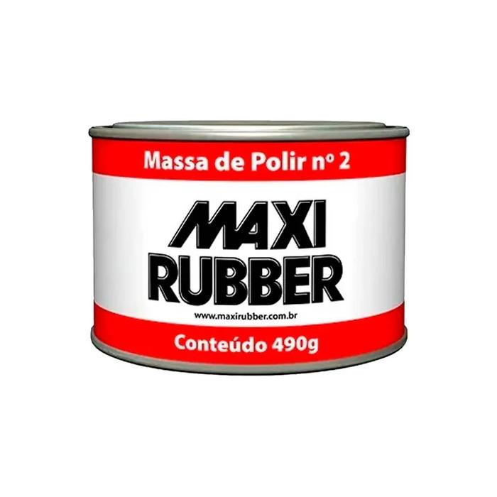 MASSA DE POLIR N°2 490G MAXI RUBBER