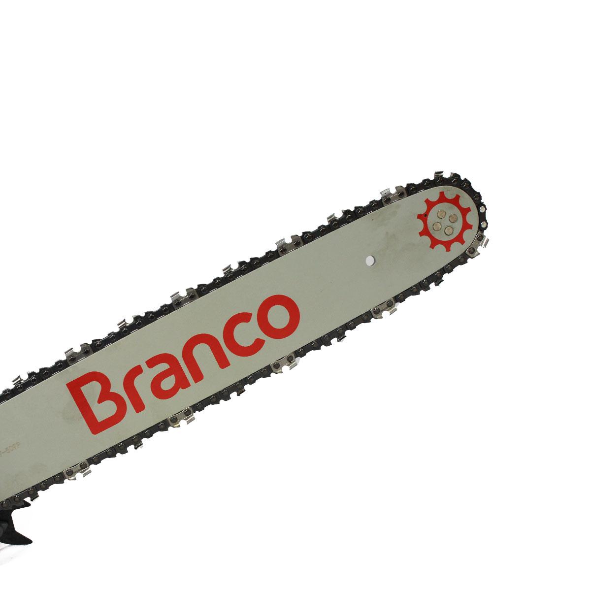 """MOTOSSERRA COM SABRE DE 16"""" MOTOR 2T BMT38 BRANCO"""