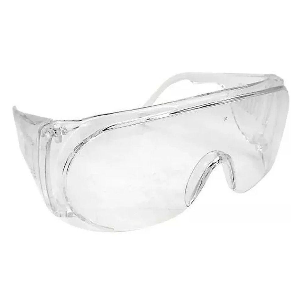 Óculos De Proteção Epi Segurança Transparente - Panda