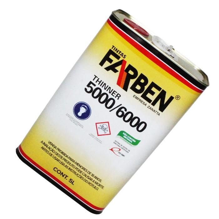 THINNER 5 L 6000 FARBEN