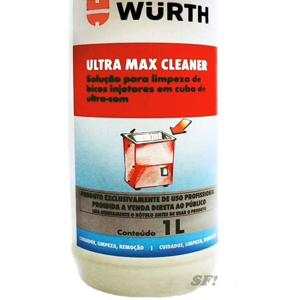 Ultra Max Cleaner Solução Para Limpeza Em Cuba De Ultra-som