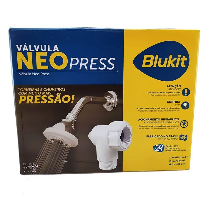 VÁLVULA NEO PRESS BLUKIT