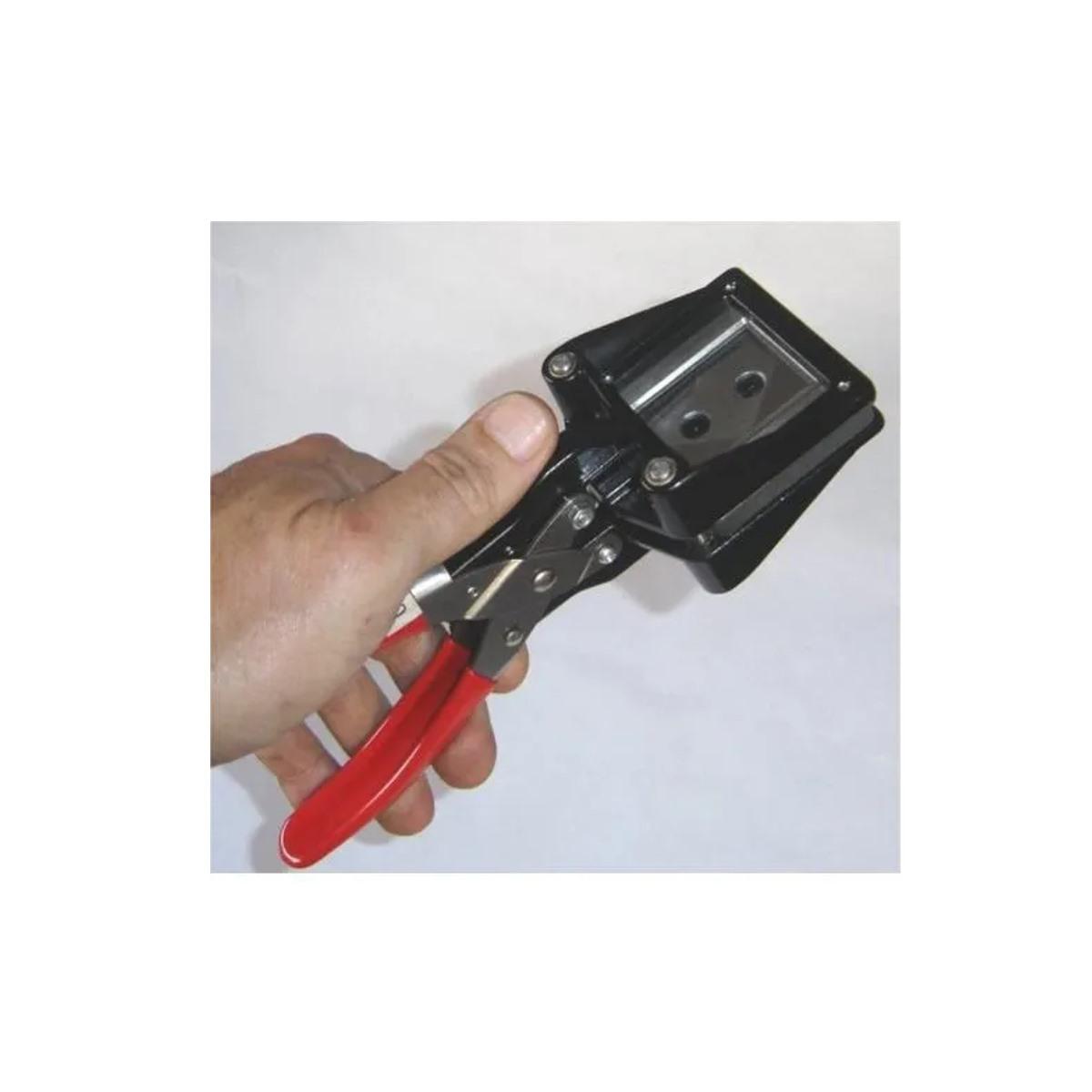 Alicate Cortador de Fotos 3x4 Corte em Aço Canto Reto