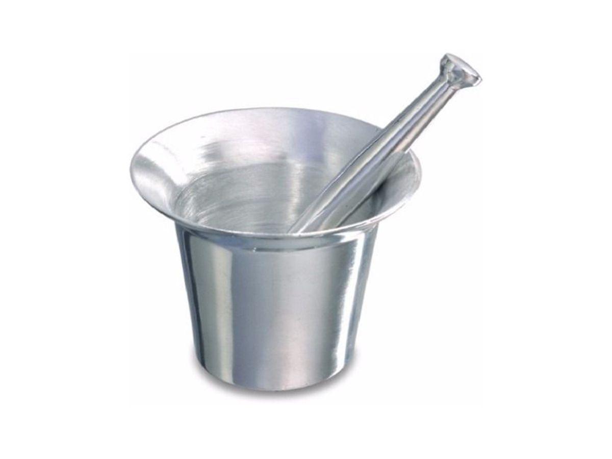Almofariz de Alumínio Repuxado (socador de Alho) Continental