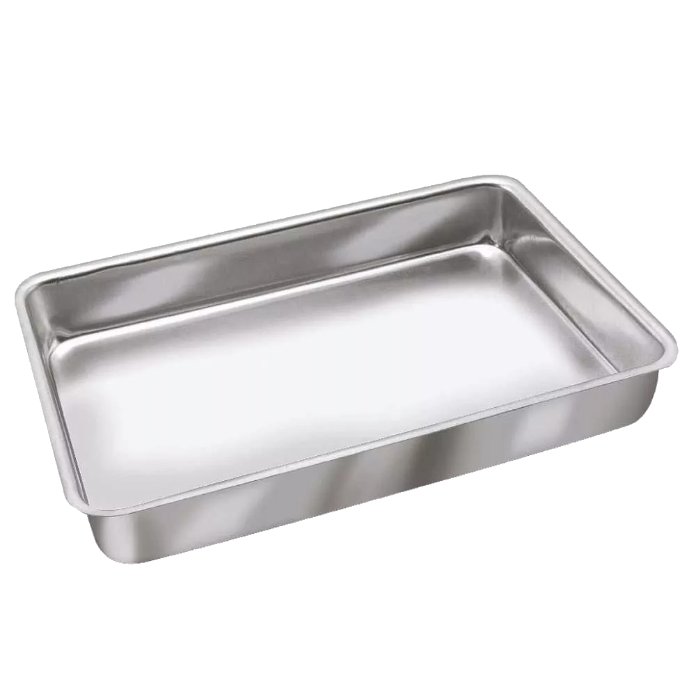 Assadeira Alta de Alumínio Continental Nº3 (35x24x4,2cm)
