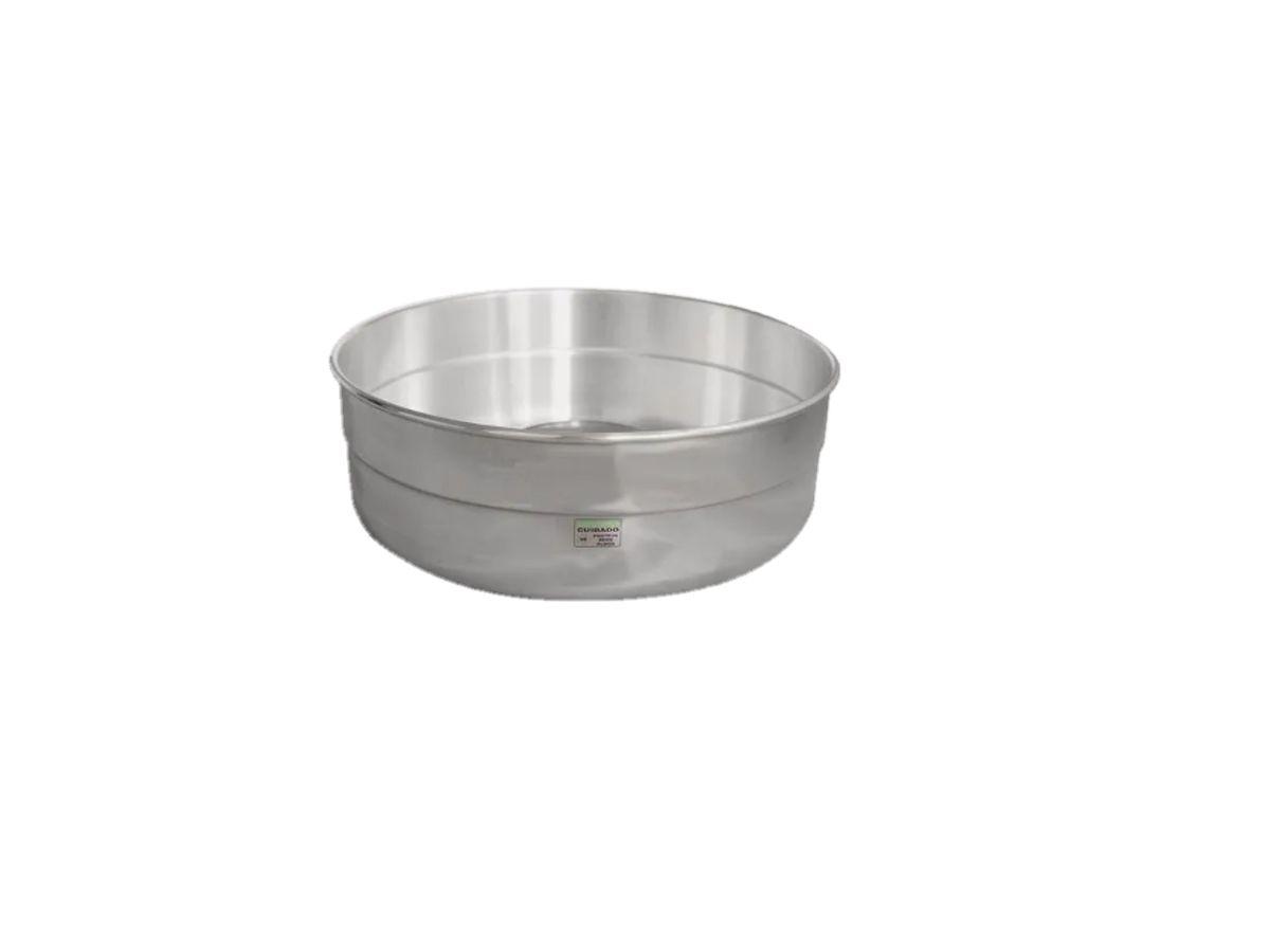 Bacia Em Alumínio Laminado Para Máquina De Algodão Doce 50cm