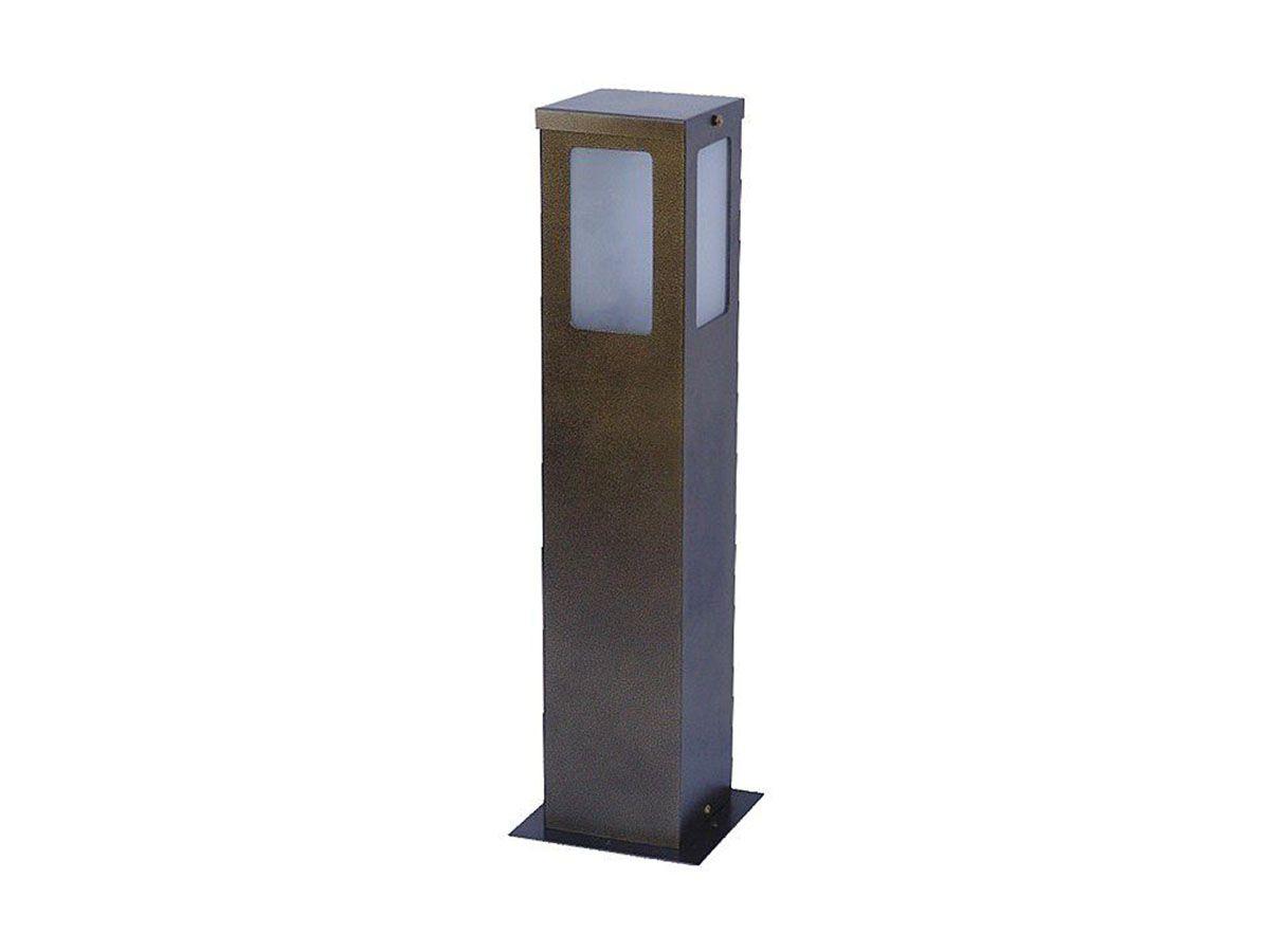 Balizador Colonial Super para Jardim Tubo de Alumínio 50cm