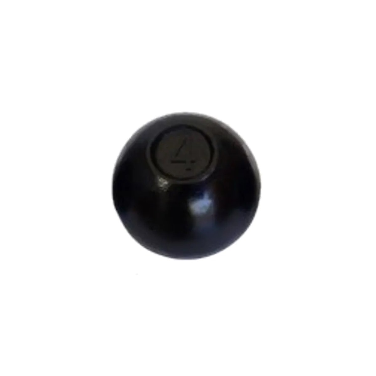 Bola de  Arremesso Ferro Fundido Treinamento Funcional 4kg