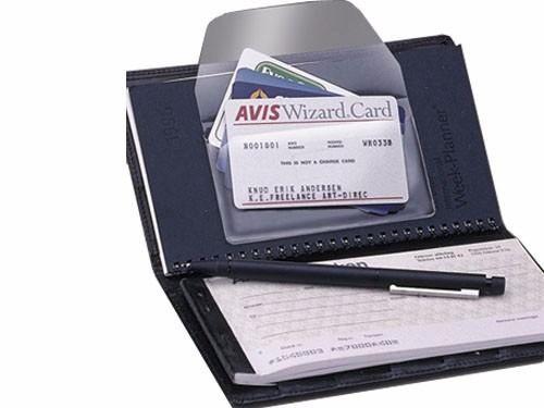Bolsa Auto Adesiva P/ Cartão de Visita Com Abertura Lateral