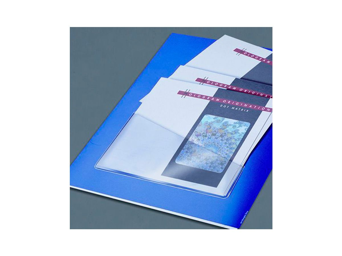 Bolsas Auto Adesivas - Porta Arquivos Direita A4