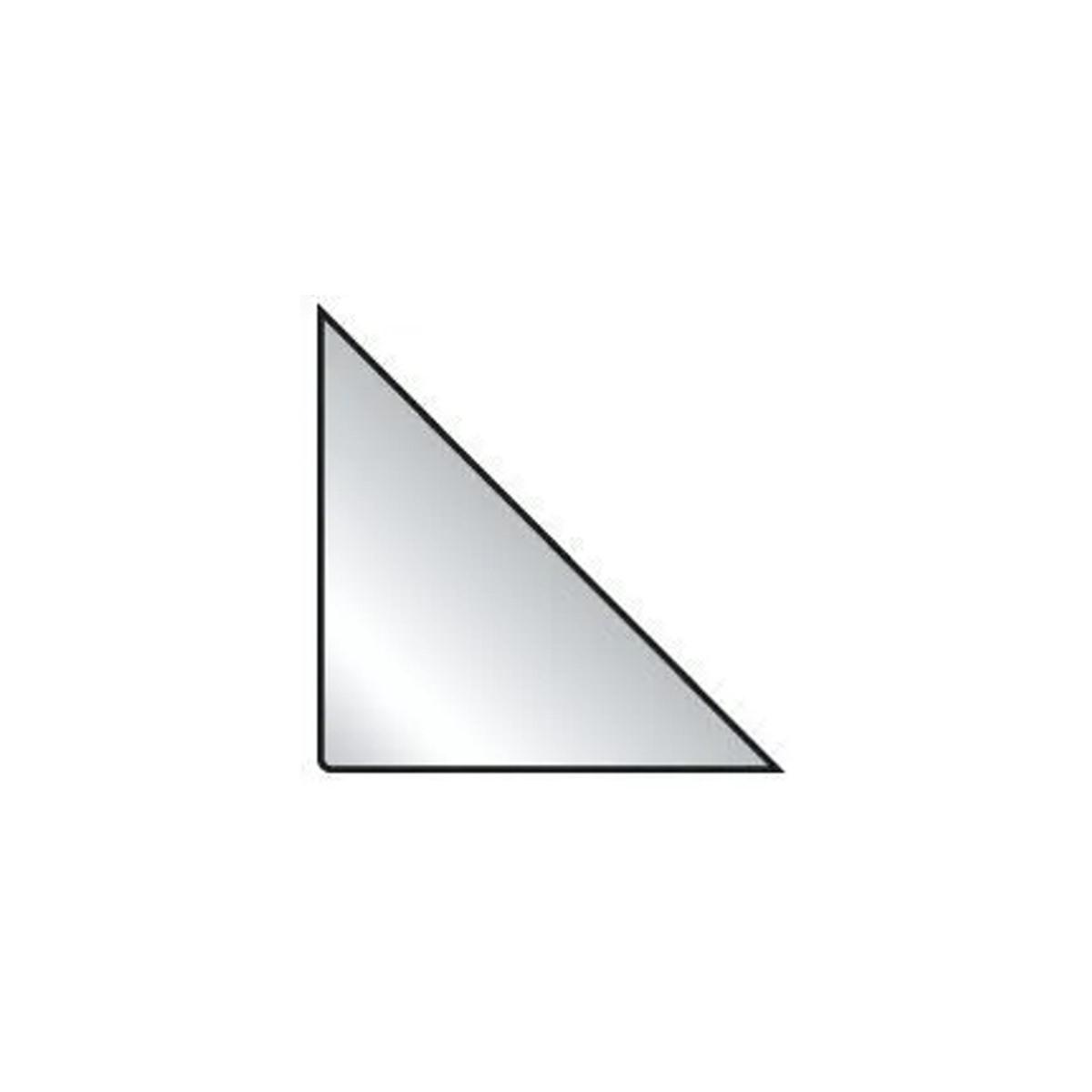 Bolsas Auto Adesivas Triangular A4 - Porta Arquivos 170x170mm