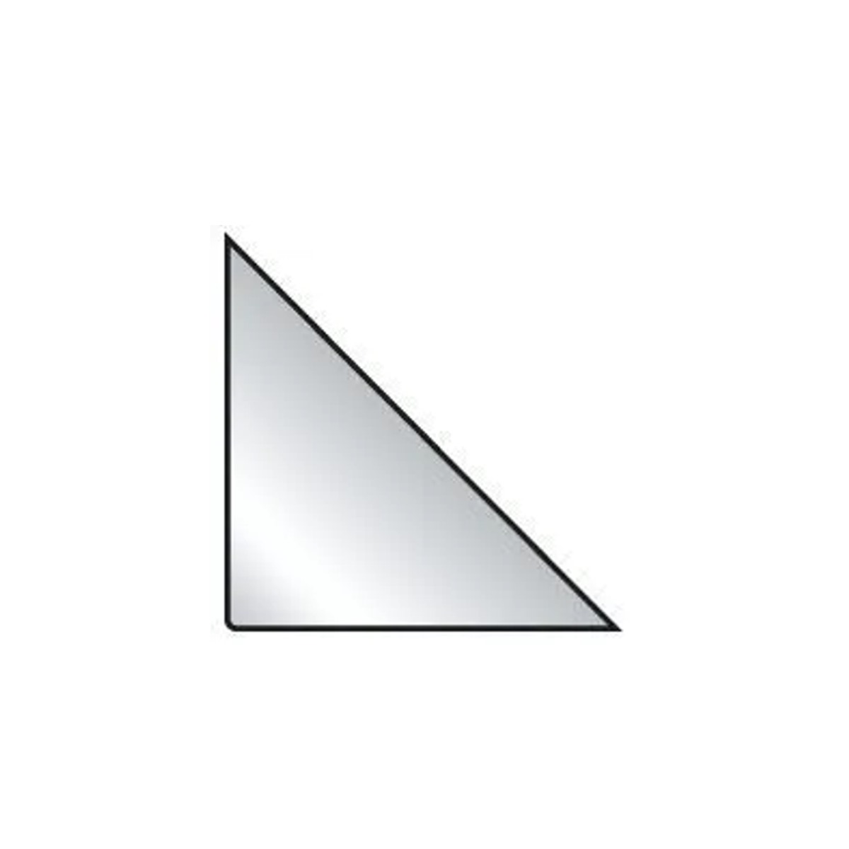 Bolsas Auto Adesivas Triangular - Porta Arquivos 75x75mm