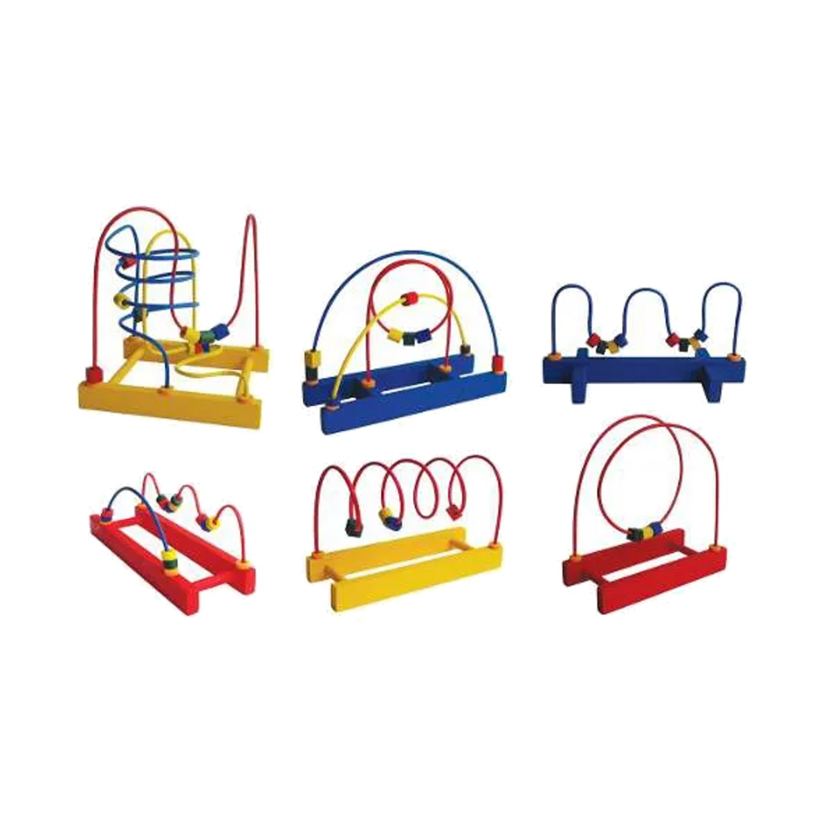 Brinquedo Educativos Conjunto de Aramados 6 Peças