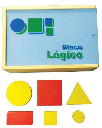 Brinquedos Educativos - Bloco Lógico 48 Peças