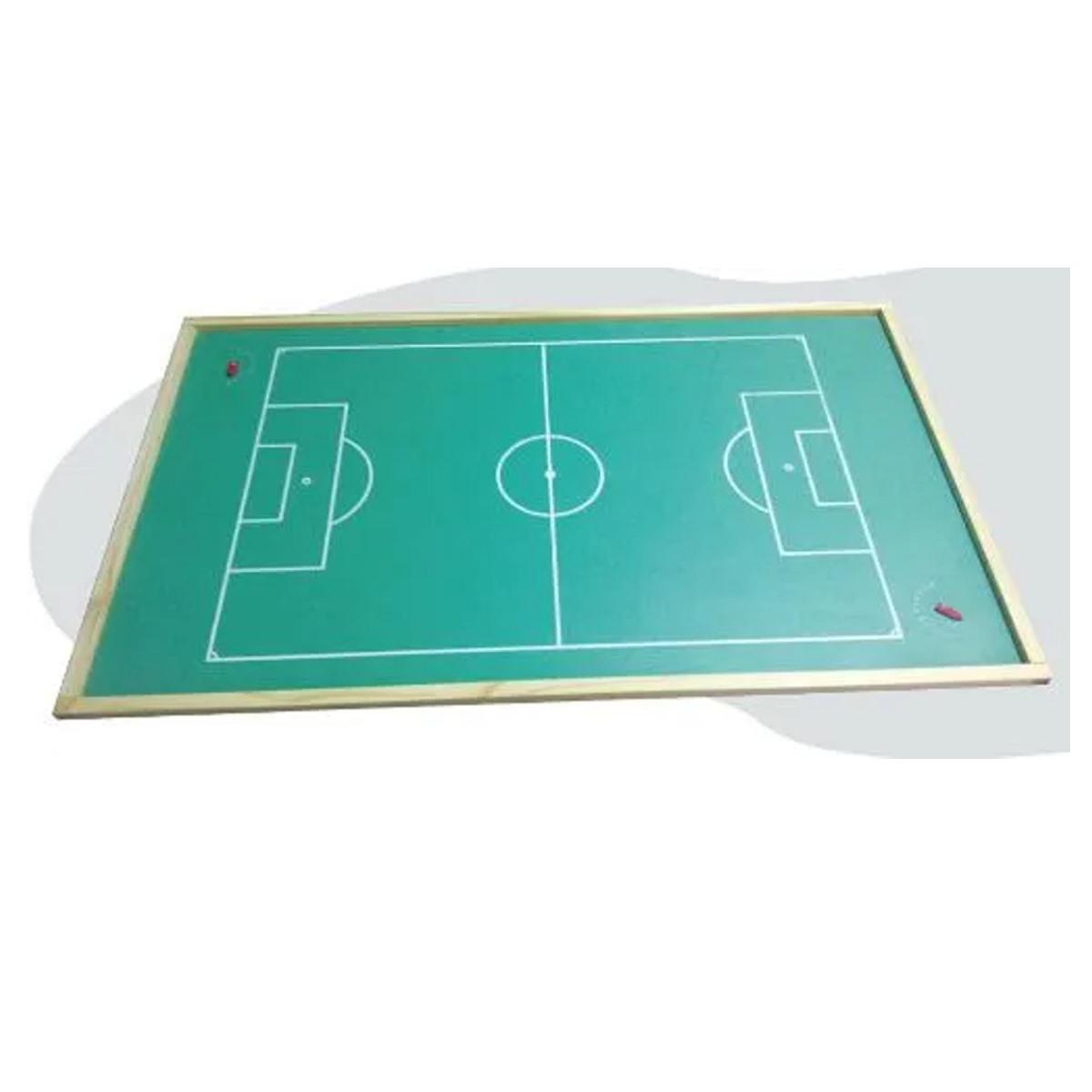 Brinquedos Educativos - Campo de  Futebol de Botão 100x62cm