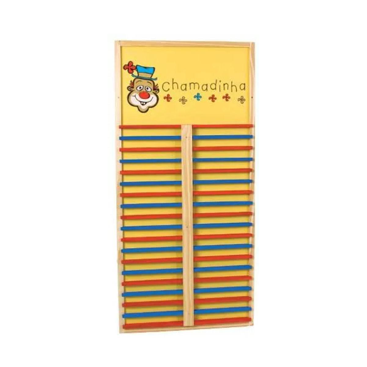 Brinquedos Educativos - Chamadinha 36 Nomes 95x45cm