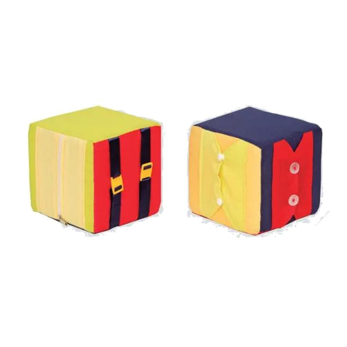 Brinquedos Educativos Cubos de Atividades 2 Peças 150x150mm