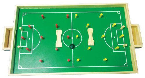 Brinquedos Educativos - Futebol de Pinos 65x35cm