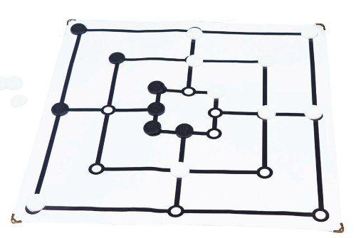Brinquedos Educativos - Jogo de  Trilha 45x45cm 18 Peças