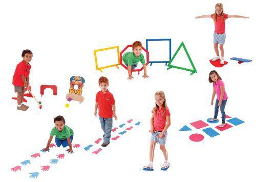 Brinquedos Educativos - Linha de Atividade Corporal 52 Peças