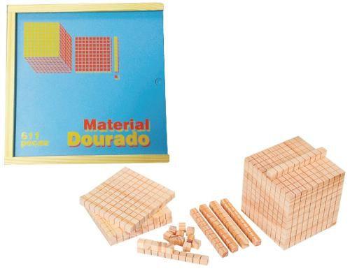 Brinquedos Educativos - Material Dourado 611 Peças